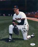 Will Clark PSA DNA Coa Hand Signed 8x10 Barry Cola Photo Autograph