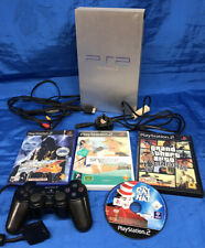 Sony Playstation 2 Silver Console SCPH-50003 With Games