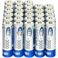 28x AA battery batteries Bulk Nickel Hydride Rechargeable NI-MH 3000mAh 1.2V BTY