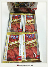 2003 Select AFL XL Ultra Trading Cards Sealed Loose Packs Unit of 4--packs