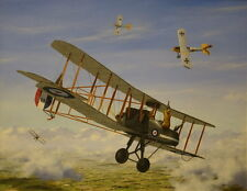 RAF FE.2b RFC WWI Plane Aviation Aircraft Painting Art Print