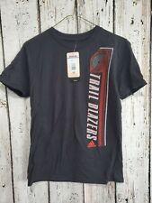Lz Adidas Youth Medium 10/12 Portland Trailblazers Nba Basketball Tee T-Shirt Nw
