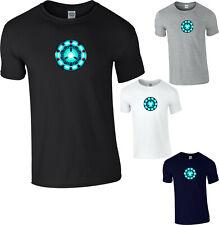 Iron Man Arc Reactor T-Shirt Superhero Marvel Avengers Infinity War Adult Kids
