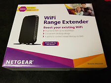 NETGEAR N600 Universal Dual Band Wi-Fi Range Extender Repeater 2.4 Ghz and 5Ghz