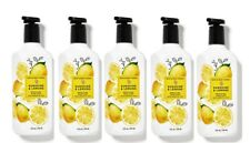 Bath & Body Works Sunshine & Lemons Gentle Gel Hand Soap 8 oz - x5