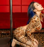 Dame Lange Leopard Jumpsuits Zipper Leggings Bodysuit Clubwear Costume Suit