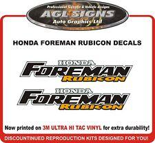 Honda Foreman Rubicon Reproduction Decal Set