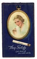CHESTERFIELD CIGARETTES*THEY SATISFY JUST ABOUT ALL YOU COULD ASK FOR*AD CARD