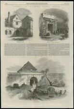 1868 ESSEX Tilbury Views Main Guard and Gate-House The Sallyport  (157)
