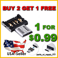 micro usb otg adapter for flash drive Samsung LG HTC Android phone tablet US