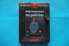 """HUGO MONTENEGRO Love Temes from """" THE GODFATHER """" TAPE STEREO 8 1972 SEALED"""