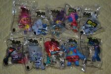 McDonalds TROLLS WORLD TOUR complete 10pc set QUICK FREE shipping clean home