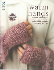 Warm Hands How To Make Mittens Knitting Instruction Pattern Book HOWB NEW