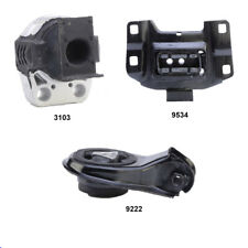 Motor & Trans Mount Set 3PCS for 2010-2013 MAZDA 3 2.0L