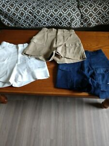 Lot Of 3 Women's Shorts Sportif Fishing Boating Size 10 Pre-owned #186