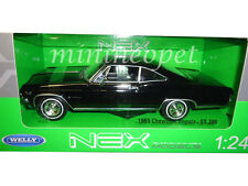 WELLY 22417 1965 65 CHEVROLET IMPALA SS 396 1/24 DIECAST BLACK