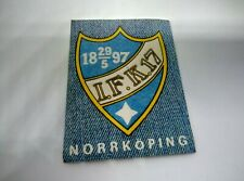 IFK Norrkoping - Jean's Sticker Magazine Gol 1978 Unused - Very Rare Collection