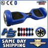 UL Certified Blue Electric Hoverboard Smart Self Balancing Scooter LED Bluetooth