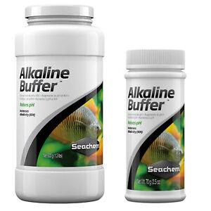 Seachem Alkaline Buffer pH Raise KH / Alkalinity Freshwater Aquarium Fish Tank