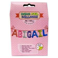 Royal County Products Name Foil Balloons - Abigail - New