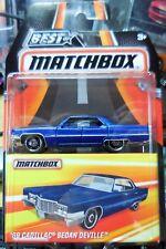 2016 Matchbox Best Of 1969 Cadillac Sedan Deville Blue Combine Shipping