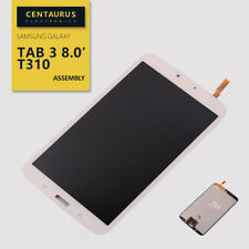 US White For Samsung Galaxy Tab 3 8.0 SM-T310 LCD Display Touch Screen Digitizer