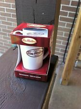 TIM HORTON'S MINI CERAMIC DRINK-IN COFFEE CUP ORNAMENT *NEW IN BOX* 2011