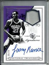 Larry Nance 13/14 National Treasures Autograph Game Used Jersey #50/75
