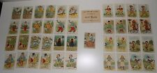 Vintage Parker Brothers Old Maid Card Game Old Maids Cat, Old Maids Dog, Etc