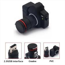 32 64 128 256 GB USB Flash Drive Pen Memory Stick Digital Camera Shaped Gifts
