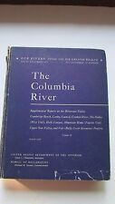 Rare 1950 Columbia River House Document 473,OL Chapman,Fold-out Maps,Charts,Dams