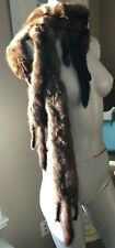 Fur Lot.  Vintage.  Classic Mink Collar.  Fox Stole. Body. Taxidermy. Costume.