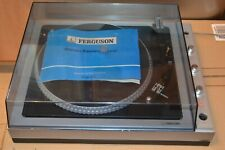 Ferguson Stereo Record Player With Instructions - Model 3057C - VINTAGE