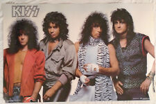 Kiss 1984 Poster Funky New Condition Gene Simmons Paul Stanley