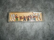 figurine ho merten box 2440 indiens à combattant vintage new