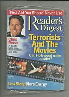 Reader's Digest October 2004 - NEW/SEALED Christopher Reeve, Terrorists, more