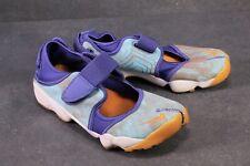 SB406 NIKE Air Rift Sneaker Sportschuhe Gr. 39 türkis blau Split Toe Sandalen