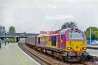 PHOTO  BR EWS CLASS 67 67030 2006 AT STIRLING UP VANS
