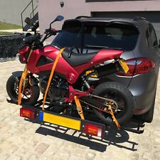 Hakr - Motor Carrier. Solid motorcycle rack for the trailer hitch.
