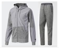 ~Adidas ATHLETICS REIGNING CHAMP FLEECE Track HOODY Jacket & PANT Suit~Mens sz M