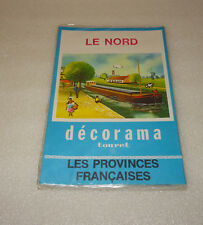 ANCIEN DECORAMA TOURET, LE NORD, DECALCOMANIES, LES PROVINCES FRANCAISES