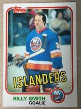 Billy Smith Topps 1981-82 #93 - Legendary Goalie New York Islanders