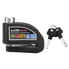 Metal Disc Brake Alarm Lock Motorcycle Scooter Security Anti-theft Wheel Lock