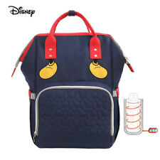Disney Mickey 2021 Diaper Bag Backpack Baby Diaper Pushchair Mommy Bag New