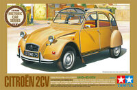 Tamiya 25415 1/24 Scale Model Historic Car Kit Citroen 2CV '76 Limited Citroën