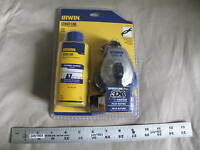 (1) New Irwin 100' Speedline Pro Strait-Line Chalk 2031319DS 4oz Blue