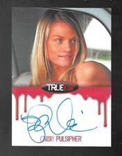 True Blood Premiere 2012 autograph card Lindsay Pulsipher BLOOD BORDERED
