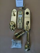 BALDWIN MANCHESTER Door Hardware Single Cylinder PVD Polished Brass BEAUTIFUL!!!