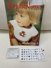 Embroidery Card #1 for Husqvarna Viking Sewing Machine 35 Embroidery Designs