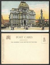 Old Rhode Island Postcard - Providence - City Hall and Soldiers Monument, Tuck's